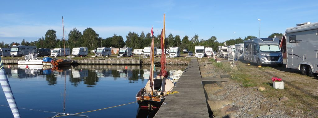 Sandhamn, camper-haven